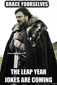 Funny Leap Year Jokes