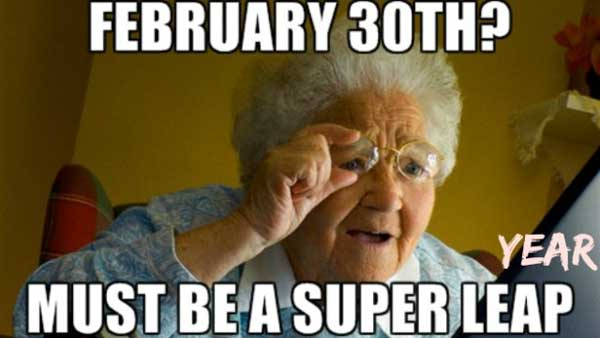 Funny Leap Year picture