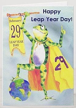 Happy leap birthday wishes with funny images