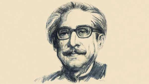 Sheikh Mujibor Rahman art