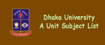 DU A Unit Subject List