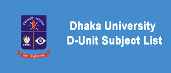 DU D Unit Subject List