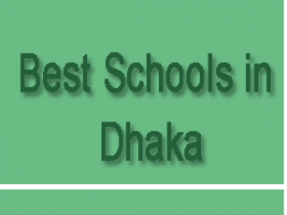 Best Schools in Dhaka